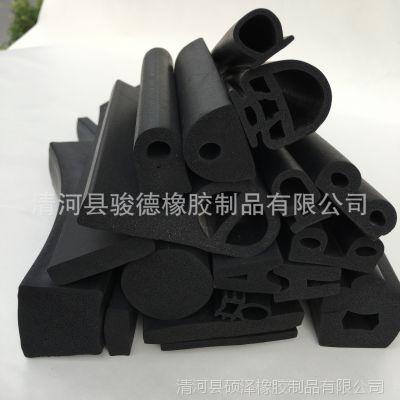 厂家直销三元乙丙海绵发泡密封条 epdm胶条圆形矩形方形异形定制