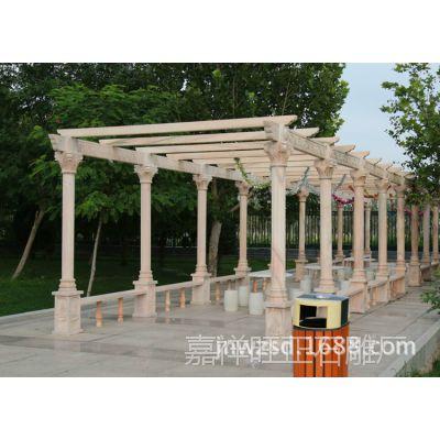 山东青石葡萄架生产厂家 嘉祥石雕户外景观葡萄架多少钱