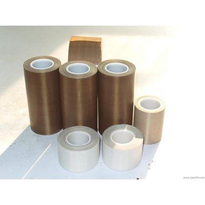 供应尺寸稳定 强度高 特氟龙耐高温胶布 特氟龙玻纤胶带