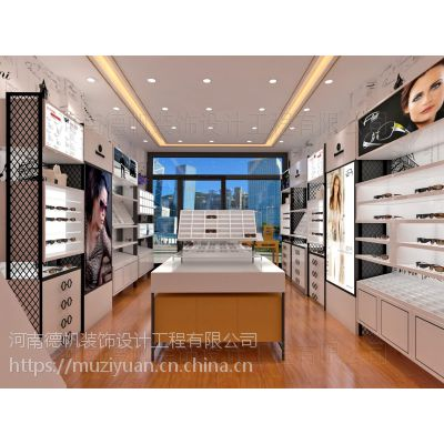江门眼镜店装修公司 眼镜展柜设计制作 眼镜柜台生产厂家 眼镜店柜台多少钱