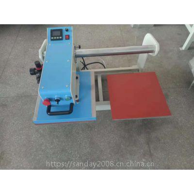 供应小型气动烫唛机 熔胶机40*50压印机烫金机