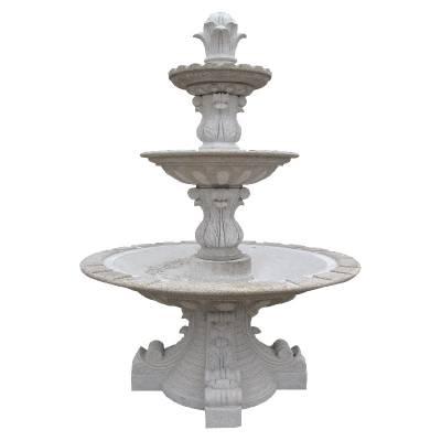 工厂直销石雕流水喷泉 手工雕刻室外流水景观大理石喷泉艺术水钵定制