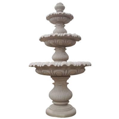 厂家定做石雕水钵 花岗岩石雕水钵 石材水池喷泉公园景观雕塑摆件