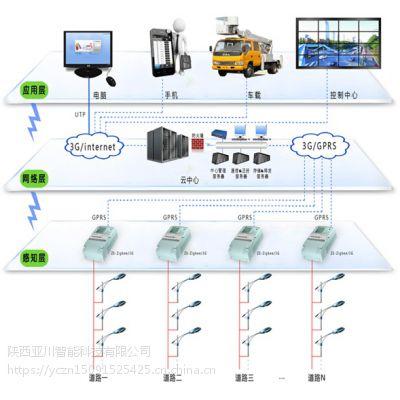 陕西亚川智能路灯无线远程监控系统