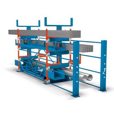伸缩悬臂式货架与普通悬臂式货架的区别