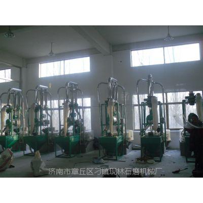 现林石磨厂家直销多型号多功能自动五谷杂粮面粉石磨