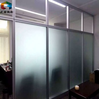 枣庄玻璃隔断安装、活动隔断设计、百叶隔断墙厂家欧诺生产