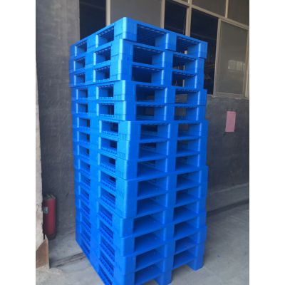 单面塑料栈板塑料托盘1210,山东双龙塑料托盘厂家