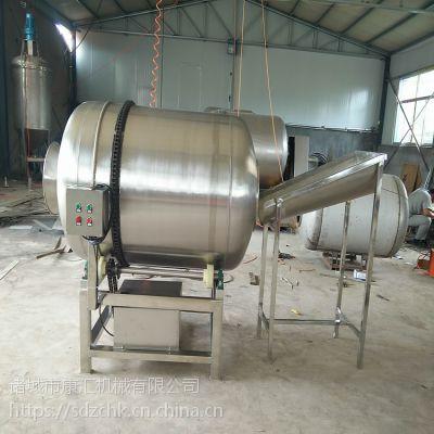 供应酱菜腌制拌料机 咸菜滚筒搅拌机 康汇牌食品混合加工设备