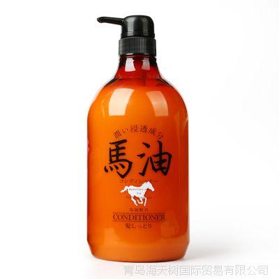日本原装进口马油弱酸性无硅油防脱控油保湿柔顺护发素