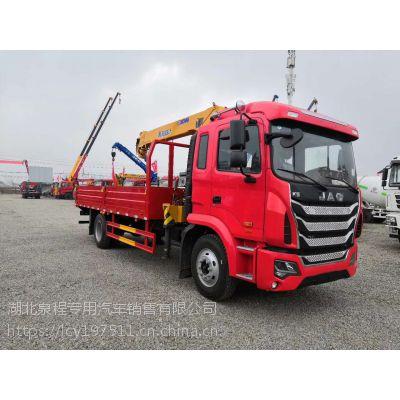 桂林6.3吨随车吊销售热线 江淮k5单桥6.3吨随车吊价格优惠