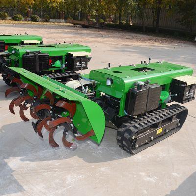 宏程热销履带式开沟机多功能施肥机 林园地旋耕机