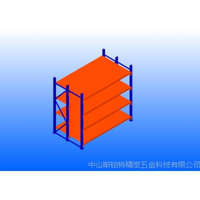 中型三柱层钢扣板