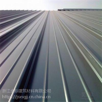浙江金铄供应铝镁锰板65 430型金属屋面板报价