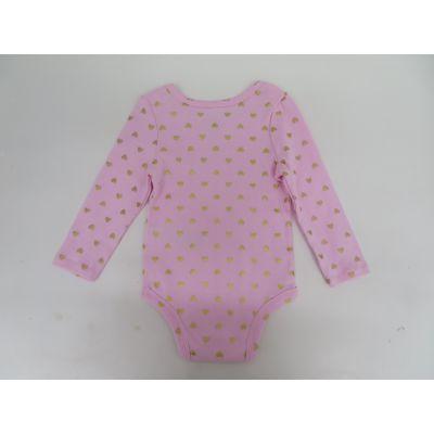 外贸原单3-6-9-12个月婴儿连体衣,秋冬季新生儿纯棉保暖哈衣爬服