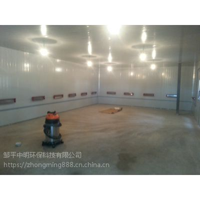 原平市豪华配件全套环保设备/家具喷漆房/电动伸缩房中明环保定制
