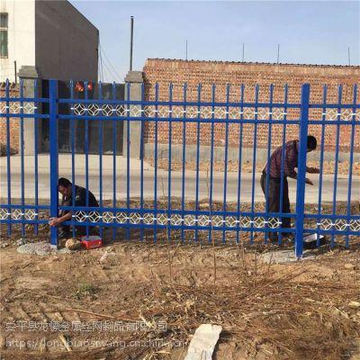 锌钢护栏现货 厂区围墙栅栏 围墙栏杆
