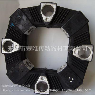 MIKIPULLEY三木橡胶联轴器CF-A-140-S0通孔弹性联轴器SIZE140