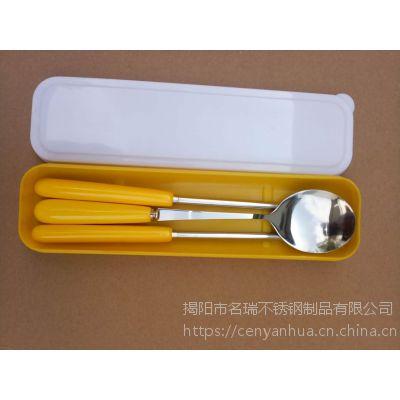 不锈钢勺筷/国庆元旦节日促销小礼品