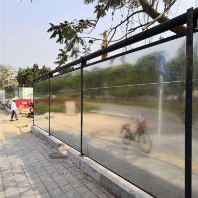 新型围挡广州装配式刚结构围栏建筑工地围墙围板使用寿命长