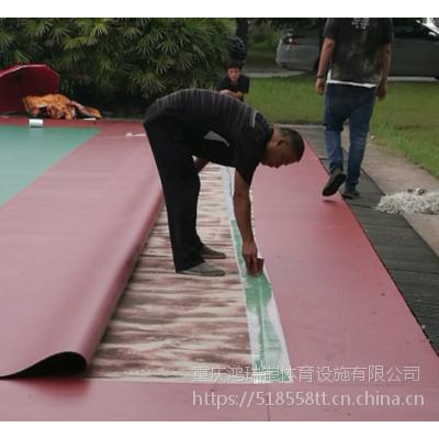 """重庆环保型河北""""英利奥""""牌YLA-78330篮球场PVC专用材料,厚度4.5mm"""