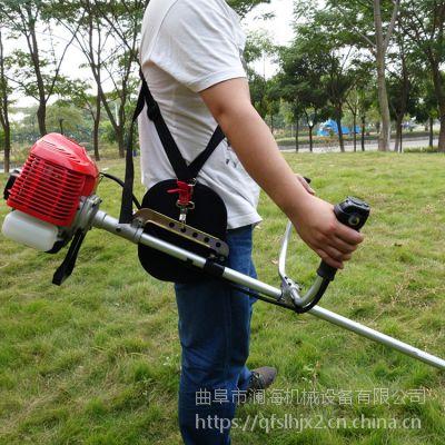 大棚果园小型割草机 玉米地除草机 多功能背负式割草打草机
