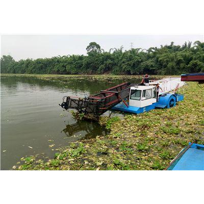 水葫芦打捞船、清理水面水葫芦机械