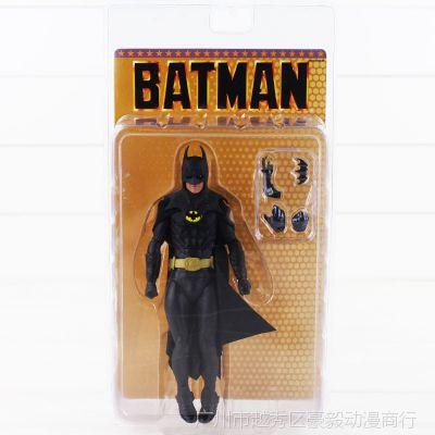 美系动漫周边NECA 1989 蝙蝠侠 迈克尔·基顿25周年 6寸可动手办