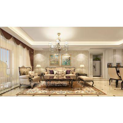 合肥禹州翡翠湖郡149平四居室欧式装修,为浪漫而生的装修风格
