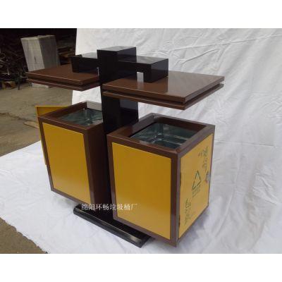 金属户外分类垃圾桶 专业生产环卫果皮箱 公园垃圾桶 定制垃圾箱