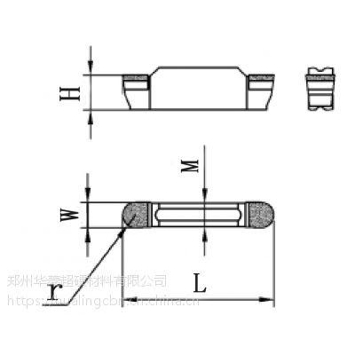 加工O型圈密封槽选用华菱品牌cbn刀具【可定制淬火后加工非标槽刀、成型刀具】