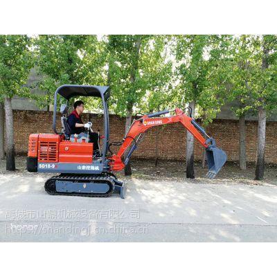 工作灵活的小型挖掘机 用于农田平整的农用小型机械