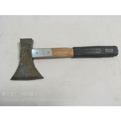 斧锤木柄斧头斧子铜粉防锈多功能加固木柄劈柴伐木