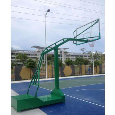 移动式凹箱篮球架-强森体育(在线咨询)-凹箱篮球架