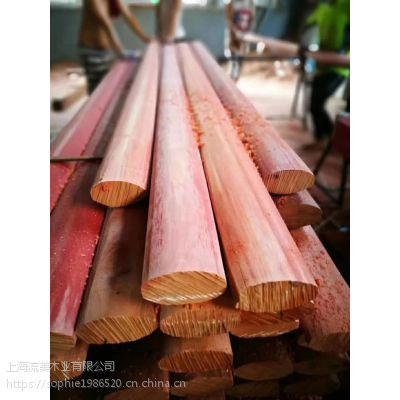红柳桉 流美木业 户外园林景观材