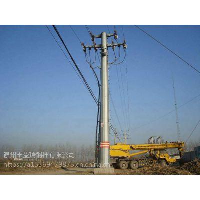 【益瑞】电力钢杆基础 打桩基业