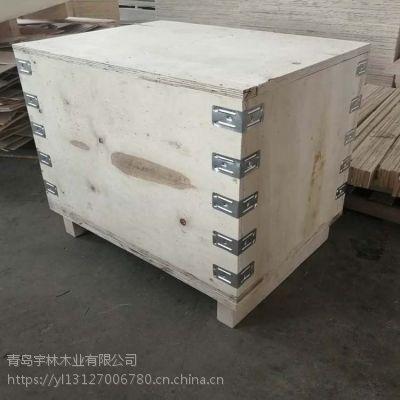 胶南包装木箱 胶合板木箱尺寸定做 实木箱子结实耐用