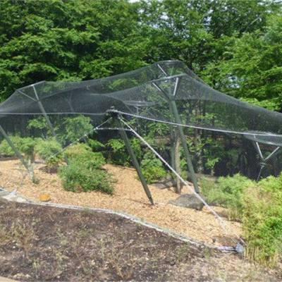 陕西鸟类笼舍绳网-鸟类笼舍绳网型号-骐骏围栏(优质商家)