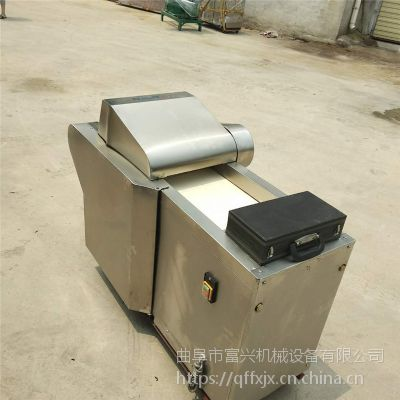 富兴不锈钢年糕切片机 海带酸菜切丝机 豆腐鱼皮切块机报价