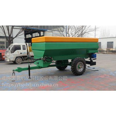 厂家直销有机肥抛撒车 有机肥施肥机
