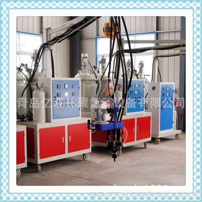 供应 山东亿双林聚氨酯pu仿木家具配件发泡机设备 价格