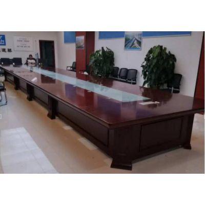 厂家直销 会议桌 简约现代办公家具 长条桌 会议室桌椅 培训桌 洽谈桌椅组合