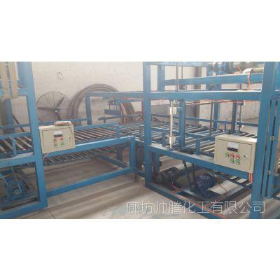 河北廊坊出售隔离带水泥发泡保温板设备 切割机 包装机生产线 生产厂家帅腾
