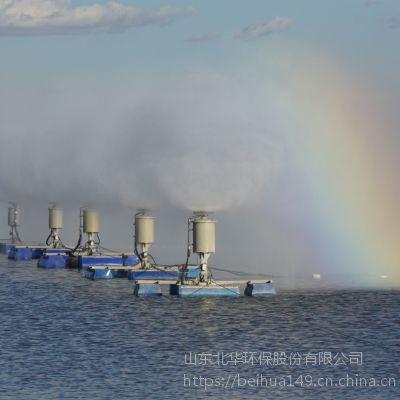 北华厂家直销污水集中处理蒸发器 浓盐水浓缩淡化蒸发塘