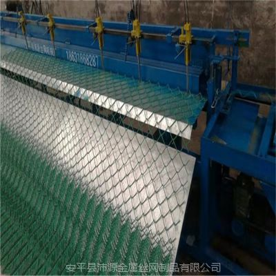 河北丝网机械 沛源新型铁丝全自动菱形网机器 性能稳定