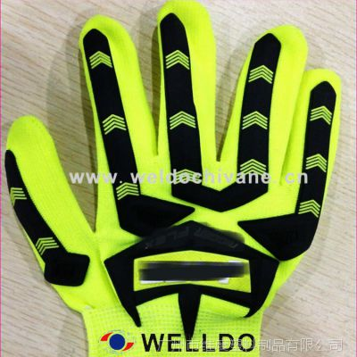 生产手套商标 PVC软胶手套商标 经久耐用!