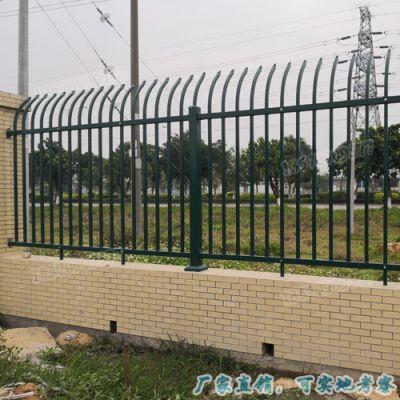 江门喷涂尖头防盗铁艺护栏 广州精品工艺栏杆 公园别墅高档栅栏