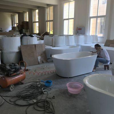沙发用嵌入式洗脚盆 亚克力泡脚盆厂家直销泡脚盆