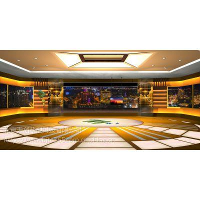 天创华视新媒体三维虚拟演播室制作,影视虚拟抠像系统厂家