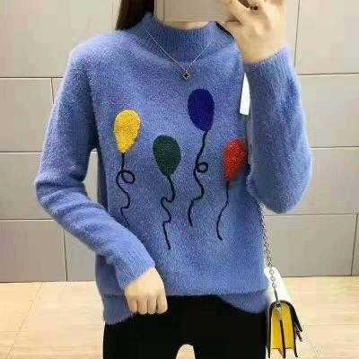 18新款玉绒雪韩版羊毛衫毛衣网红淘宝直播安哥拉绒品牌折扣女装货源